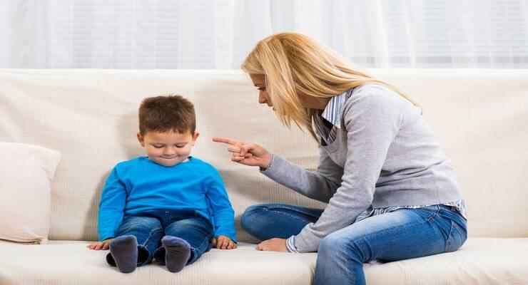 Фото к статье: Как лучше наказать ребенка