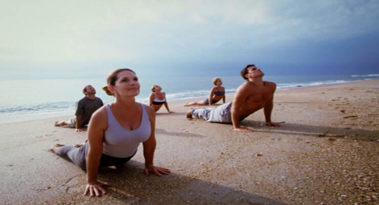 Фото к статье: Фитнес-тур «Око возрождения» с Аленой Мордовиной