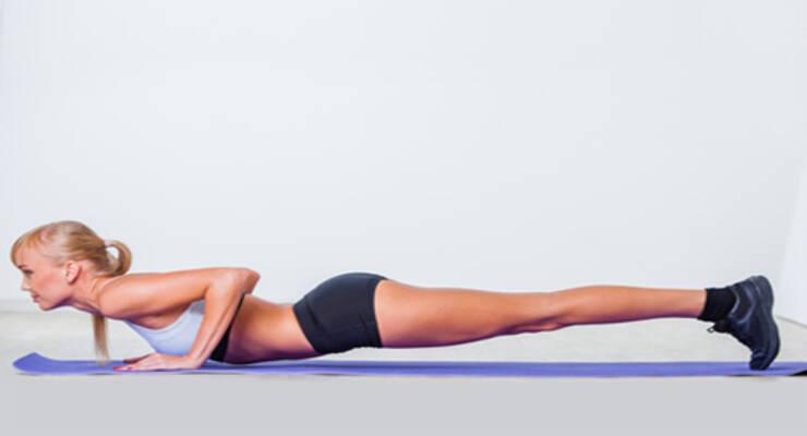 Фото к статье: Изометрические упражнения для красивого тела (ФОТО)