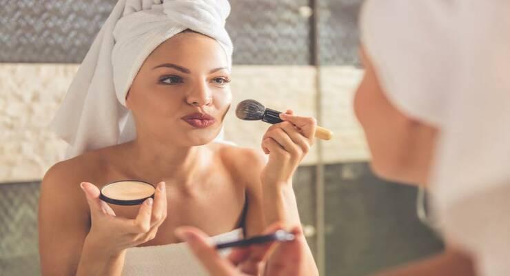 Фото к статье: 5 новых видов пудры для тела, волос и лица
