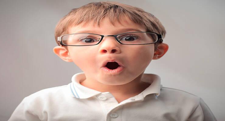 Фото к статье: Что вредит зрению ребенка