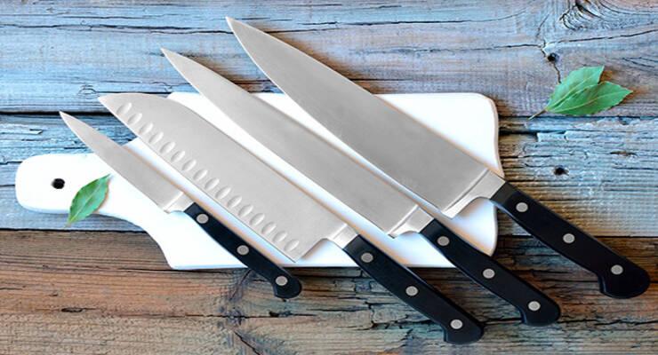 Фото к статье: Как выбрать лучший кухонный нож и правильно его использовать