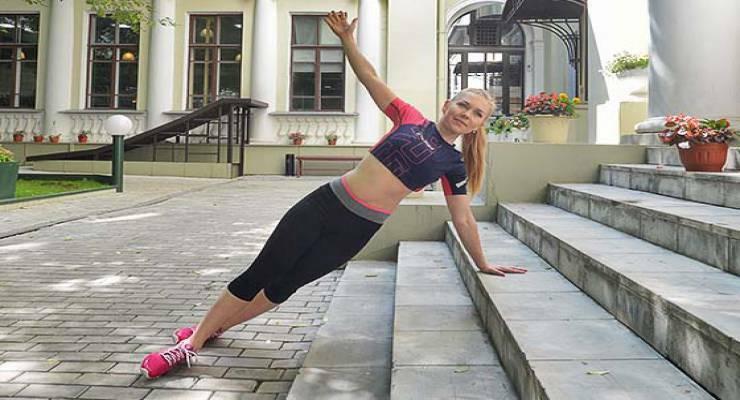 Фото к статье: Функциональный тренинг: 6 небанальных упражнений на лестнице