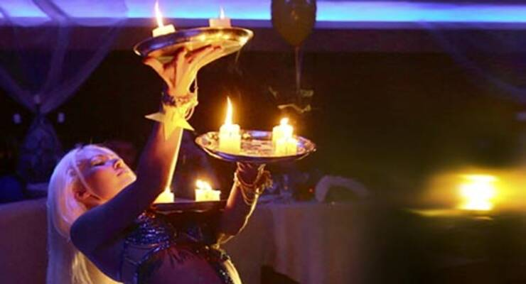 Фото к статье: Танцы с огнем