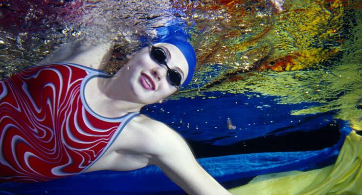 Фото к статье: Цветовая гидротерапия