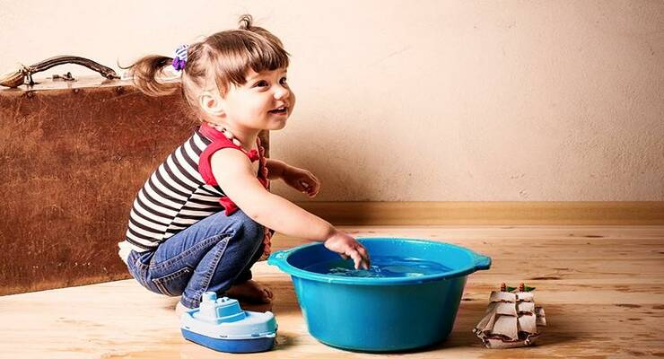 Фото к статье: 5 лучших игр для детей с водой