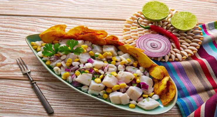 Фото к статье: Ужин в перуанском стиле по рецептам шеф-повара