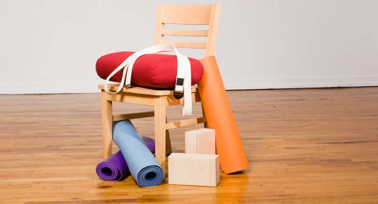 Фото к статье: Йога для начинающих: не только коврик