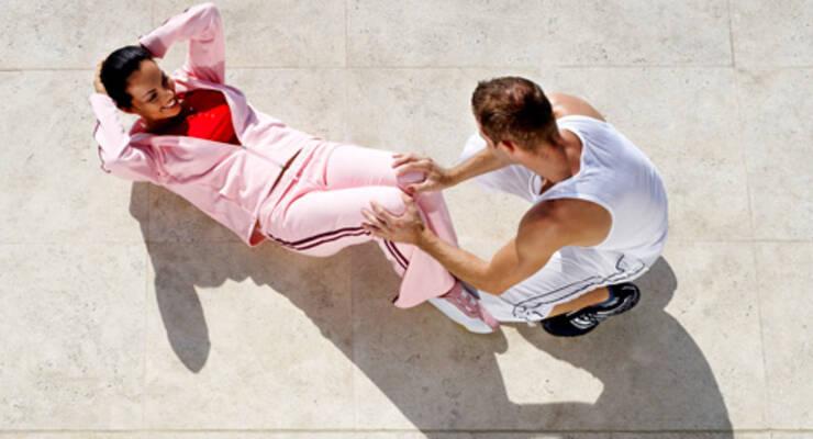 Фото к статье: Фитнес для двоих