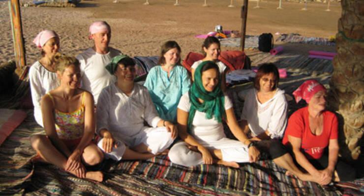 Фото к статье: Йога-тур в Египте. Щедрая награда преодолевшим себя