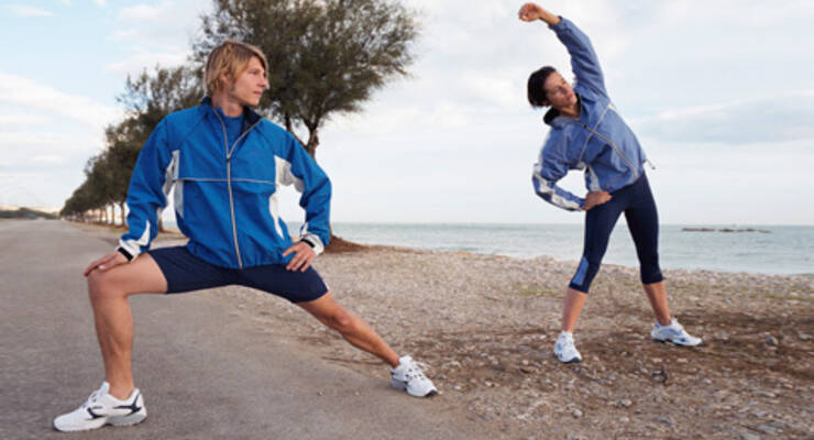 Фото к статье: Разминка и заминка! Как начать и закончить тренировку (ФОТОКОМПЛЕКС)