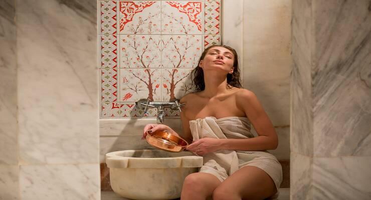 Фото к статье: Турецкая баня сделает вас красивее