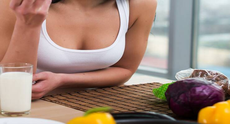 Фото к статье: 5 продуктов для здоровья груди
