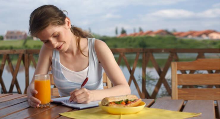Фото к статье: Как вести дневник питания