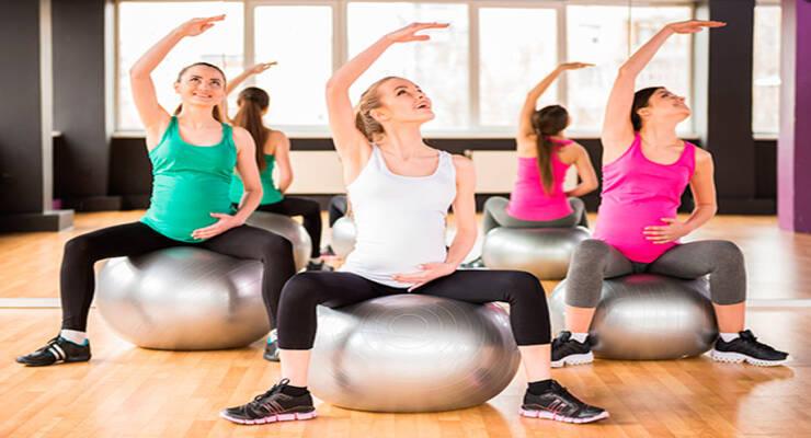 Фото к статье: Не только йога: гид по тренировкам для беременных