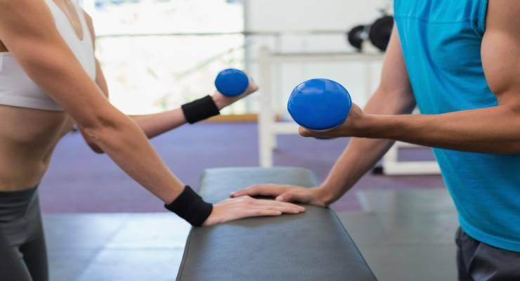 Фото к статье: Как самому составить программу тренировок: мышцы рук