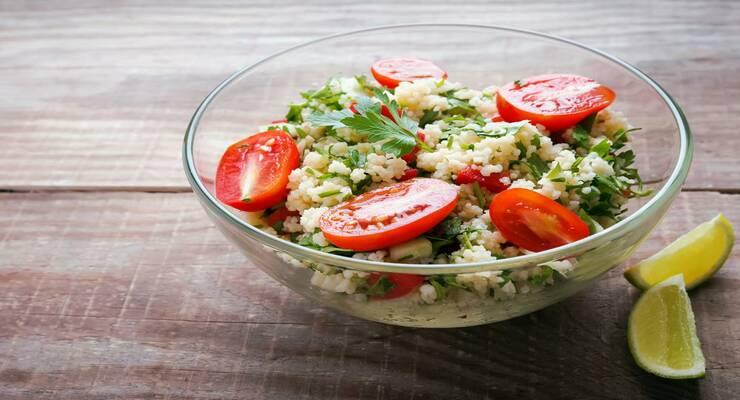 Фото к статье: Рецепты самых вкусных салатов с крупами. Часть I