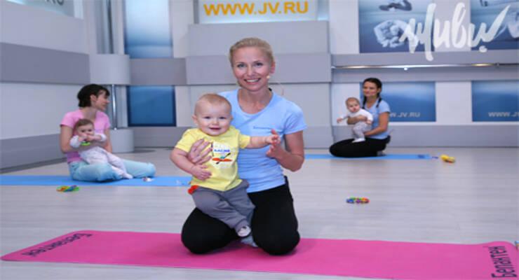 Фото к статье: Пять правил фитнес-мамы