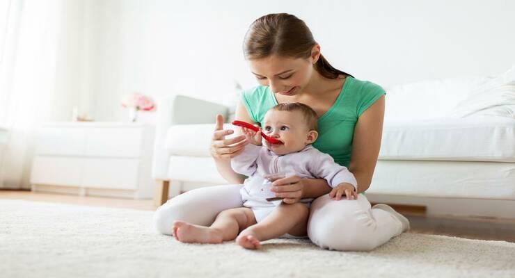 Фото к статье: Прикорм малыша: основные правила