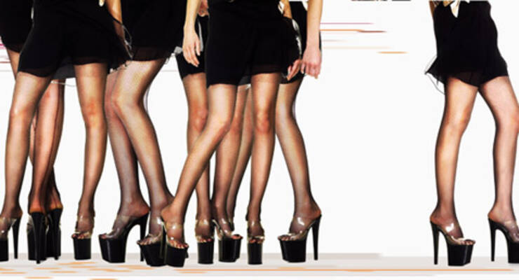 Фото к статье: Татьяна Лисицкая о мини-юбках и кривых ногах
