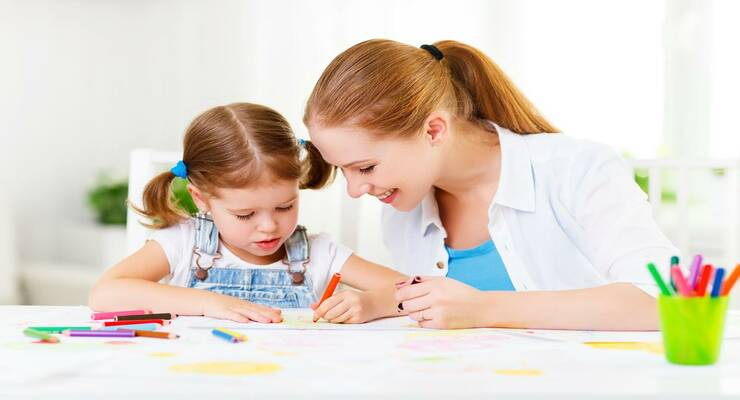 Фото к статье: 3 простых способа развить интеллект ребенка