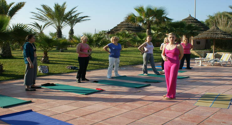 Фото к статье: Фитнес-тур «Худеем с Мариной Корпан» в Тунисе. Начало
