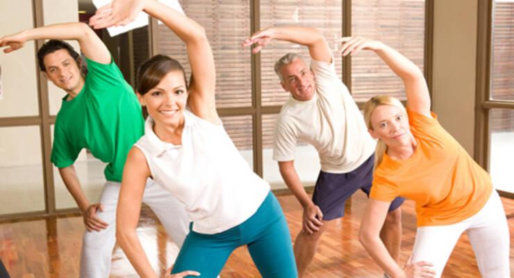 Фото к статье: Наталья Лебедева: фитнес против гипертонии