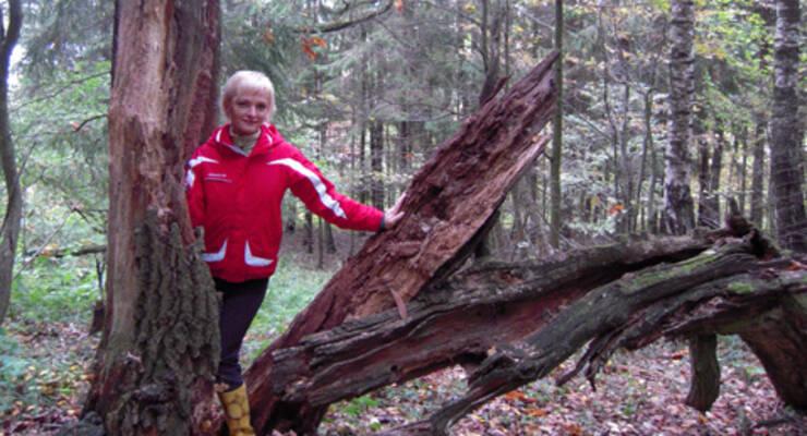 Фото к статье: Чакра-йога и прогулки за грибами с Аленой Мордовиной