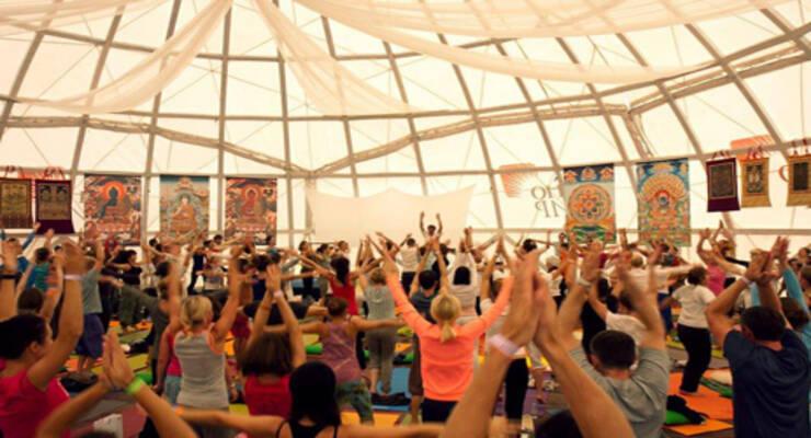 Фото к статье: 9 причин посетить фестиваль йоги Free spirit 2013
