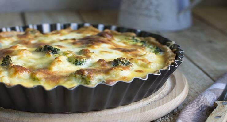 Фото к статье: Гратен из цветной капусты с сыром и вяленым окороком