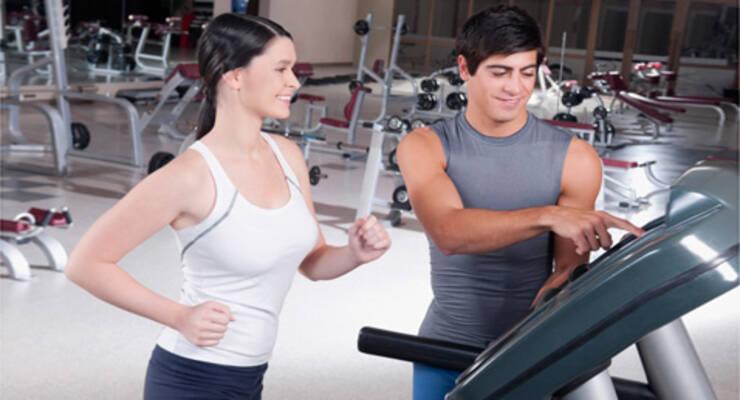 Фото к статье: Три тренировки на беговой дорожке