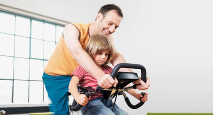 Фото к статье: Как привить ребенку любовь к фитнесу
