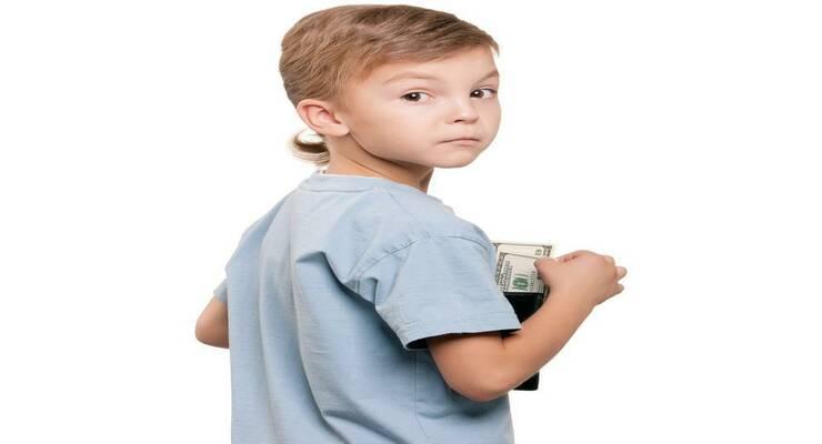 Фото к статье: Почему дети воруют деньги