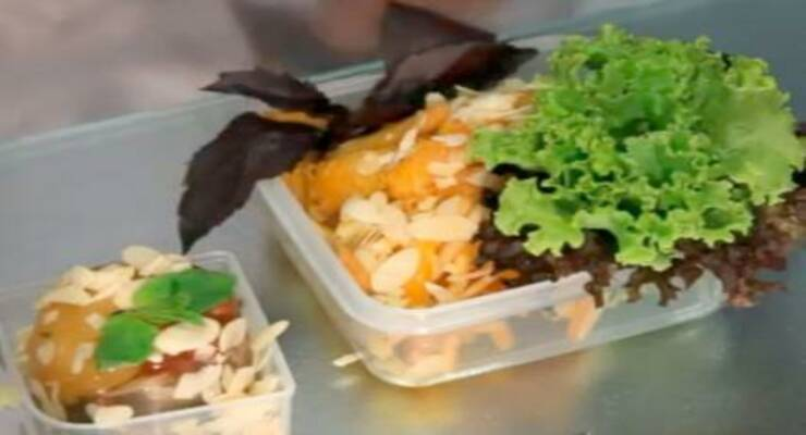 Фото к статье: Салат из тыквы, моркови и айвы и фруктовое желе