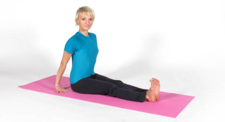 Фото к статье: Йогатерапия: тазобедренные суставы