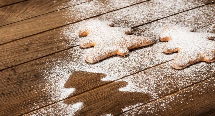 Фото к статье: Рождественские елочки из орехового теста в венском стиле