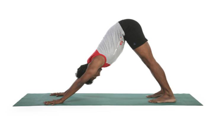 Фото к статье: Женская йога с Рави Кумаром Довлуру: третий период цикла, второй вариант