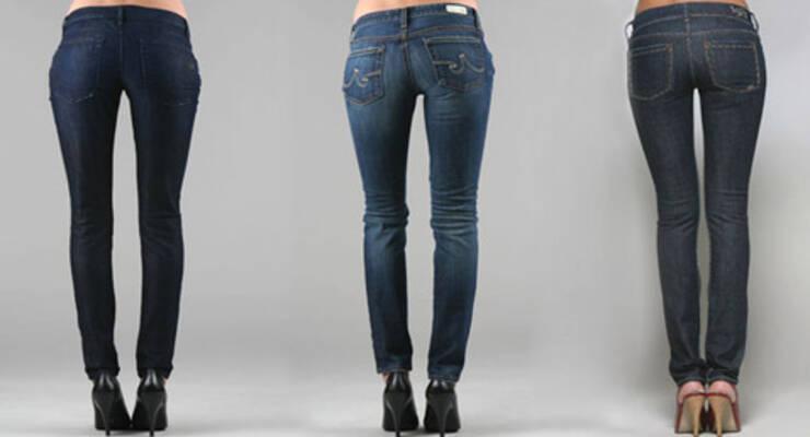 Фото к статье: Гимнастика для джинсов