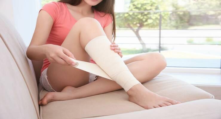 Фото к статье: Что делать, если вы получили травму на тренировке