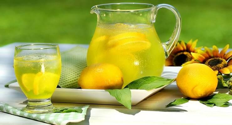 Фото к статье: Как приготовить домашний лимонад