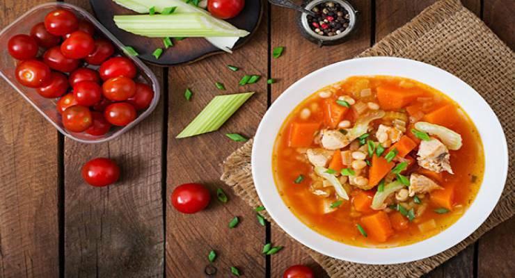 Фото к статье: Лучшие блюда с томатами: рецепты шеф-поваров. Часть 1
