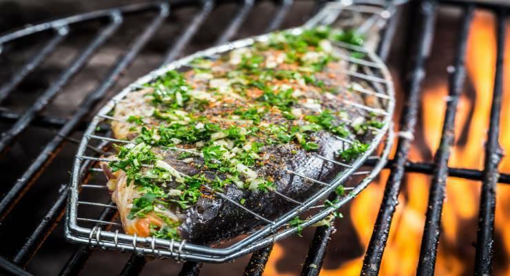 Фото к статье: Рыба на гриле: интересные рецепты шеф-поваров. Часть 1