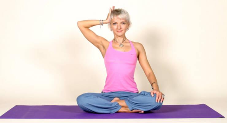 Фото к статье: Расслабляем мышцы шеи с Аленой Мордовиной (ФОТОКОМПЛЕКС!)