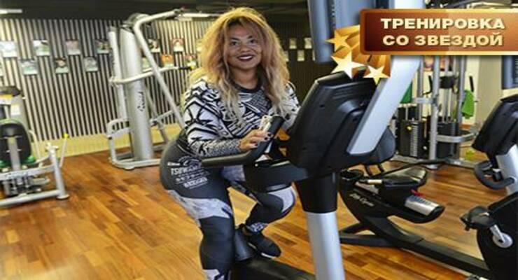 Фото к статье: Тренировка со звездой: функциональный тренинг Корнелии Манго (ФОТО)