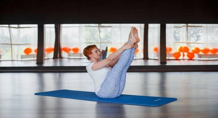 Фото к статье: 6 упражнений калланетики для плоского живота
