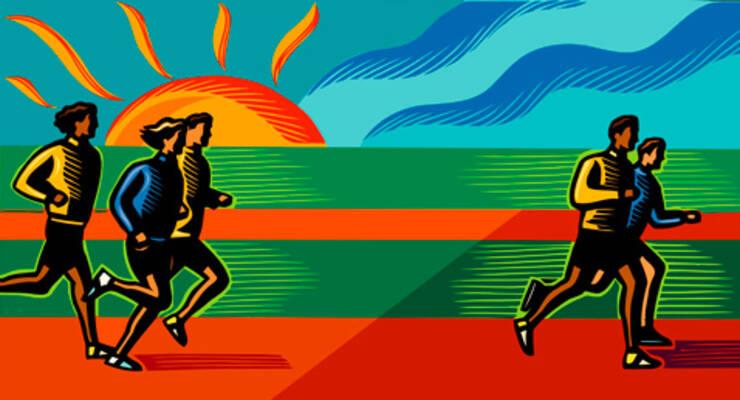 Фото к статье: Как правильно бегать
