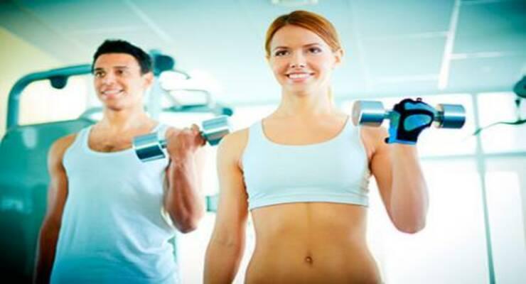 Фото к статье: Функциональный тренинг: упражнения с гантелями (ФОТО)