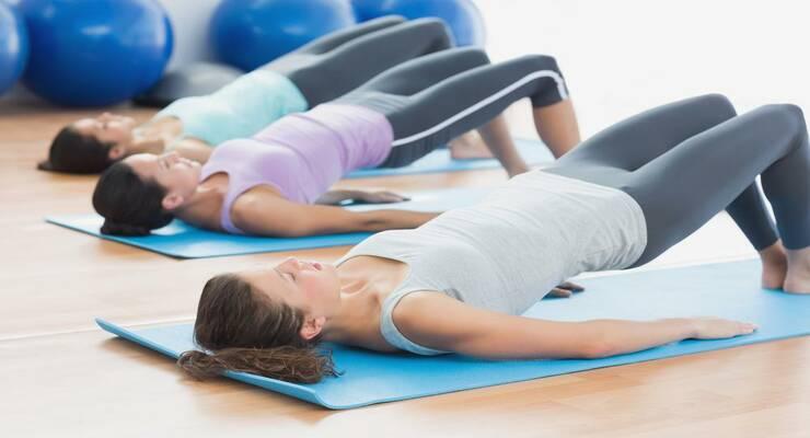 Фото к статье: 5 упражнений пилатеса против боли в спине