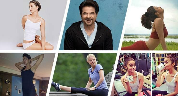 Фото к статье: 6 знаменитостей, которые занимаются йогой
