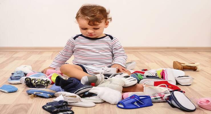 Фото к статье: Размеры детской обуви: как выбрать